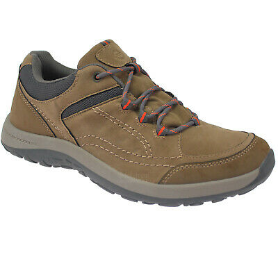 New Mens Casual Faux Leather Lightweight Walking Hiking Driving Trainers Shoes