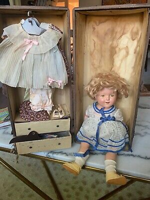 "Vintage Ideal Shirley Temple 18"" Jointed Composition Doll 1934"
