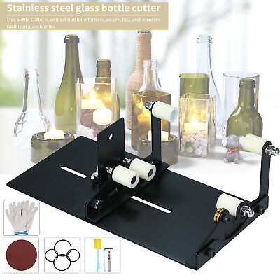 Upgrade Version DIY Glass Bottle Cutter Cutting Tool Wine Beer Glass Cutter I3K9