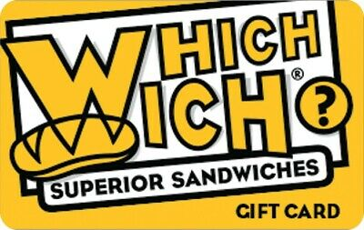 $50 Which Wich Gift Card