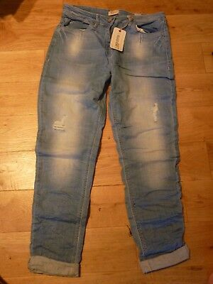 NEXT Girls Boys Distressed Premium Relaxed Skinny Jeans 15 Years BNWT RRP £29.99