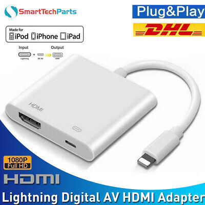 1080P Lightning zu Digital AV TV HDMI Kabel Adapter für iPad Air Apple iPhone