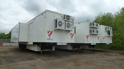 Mobile Hospital, Mobile Office, Clinic, command and control, exhibition trailer