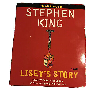 """""""Lisey's Story"""" by Stephen King - Audio CD - Unabridged 16 CD's 19 Hours"""