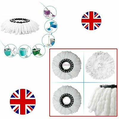 Microfibre Head Refill For 360 Spin Magic Mop Replacement Mop Home Dust Cleaning