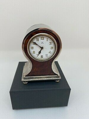 Antique French Aiguilles Mantle/Desk clock with Alarm