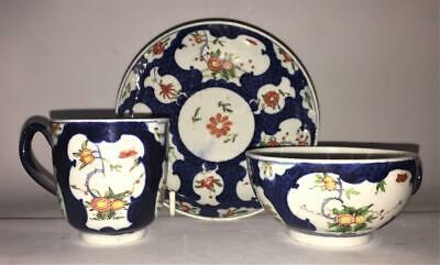 Rare Georgian Worcester Dr Wall Period 'Kakiemon' Tea, Coffee Cup & Saucer C1751