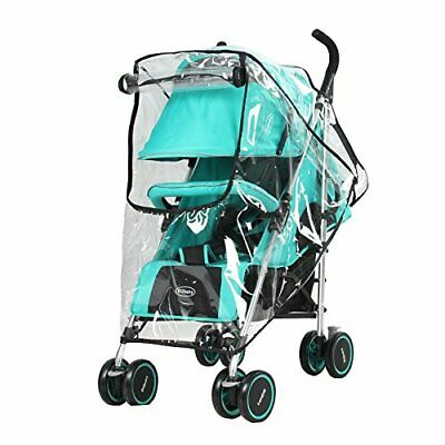 Obecome Baby Stroller Rain Cover Waterproof Umbrella Stroller Wind Dust Shield