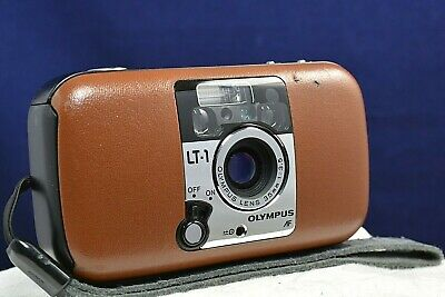 Olympus LT-1 35mm Film Compact Photo Camera Japan Leather Cover Photography