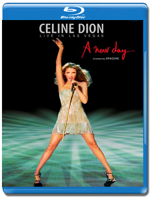 Celine Dion - A New Day... Live In Las Vegas Blu-Ray