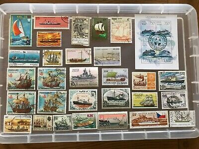 Thematic Stamps Ships