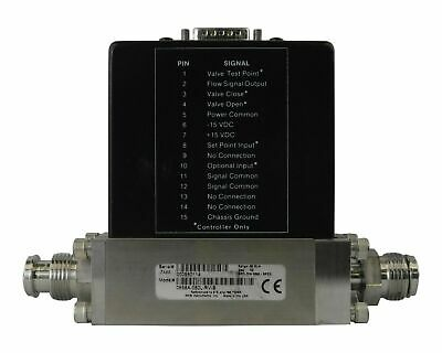 Mks Mass Flow Controller For N2 Gas Model 0558A-050L-Rv-S 760 Torr