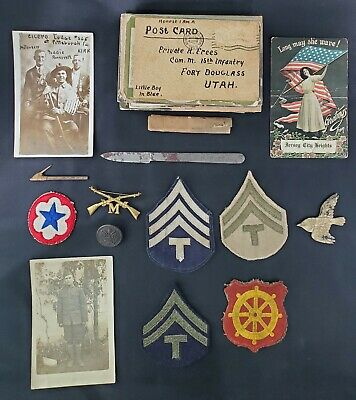 WWI & WWII Miscellaneous Lot Of Items