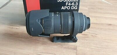 Sigma 50-500mm F4-6.3 APO DG Nikon Fit