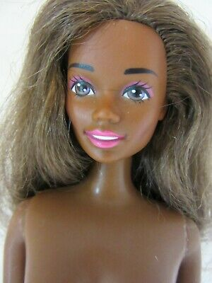 Black African American Barbie Christy nude light hair TNT 1966 CHINA  body - PXT