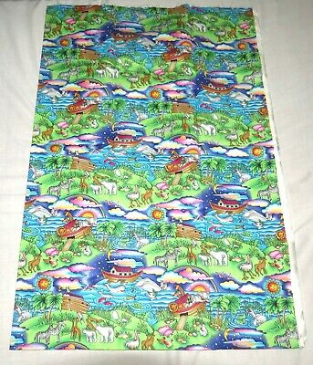 Hi-Fashion Fabrics Timeless Treasures Noah Themed Fabric Yardage NEW