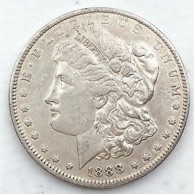 1888-O Morgan Silver Dollar 90% Silver $1 Coin Us #Pp8
