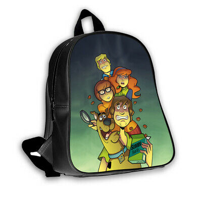 New Scooby-Doo Cartoon Movie Custom School Bag Kids Boys Girls Backpack Rucksack