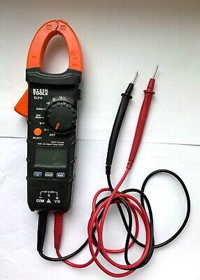 Klein Tools CL210 400 Amp AC Auto Ranging Digital Clamp Meter 11/L18946A
