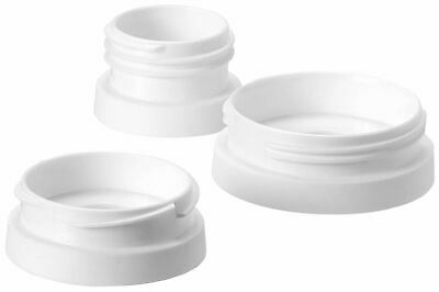 Tommee Tippee EXPRESS & GO BREAST PUMP ADAPATORS Baby Feeding - NEW