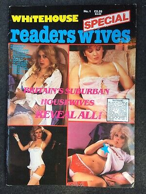 Vintage Men's Adult Glamour Magazine - Whitehouse Number 1 Rare Collectible 80s