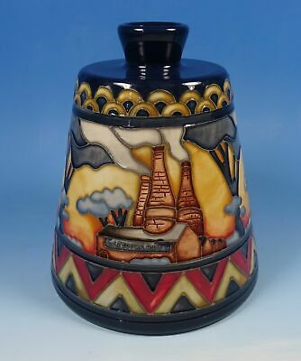 """MOORCROFT Eventide Revisited 162/5 History in the Making 5"""" Vase RRP £480"""