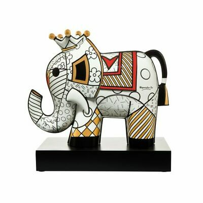 Goebel Golden Romero Britto Figur Skulptur Elefant Dekoration