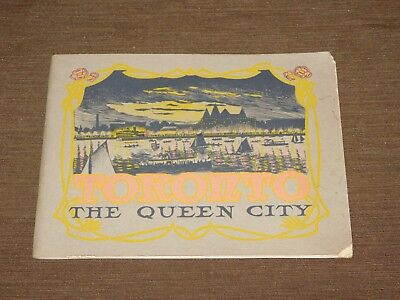 Vintage Toronto The Queen City Souvenir Picture Book