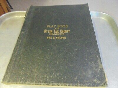 Vintage 1933 Otter Tail County Minnesota Plat Book Choose your township