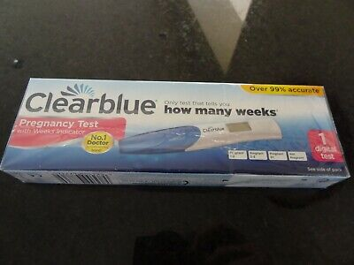 Clearblue Digital Pregnancy Test with Weeks Indicator, Kit of Test 1