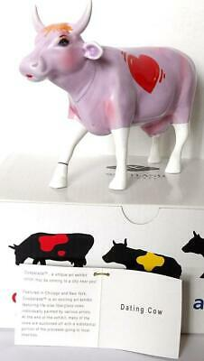 Cowparade DATING COW Figurine Westland Giftware 9161 Retired NIB