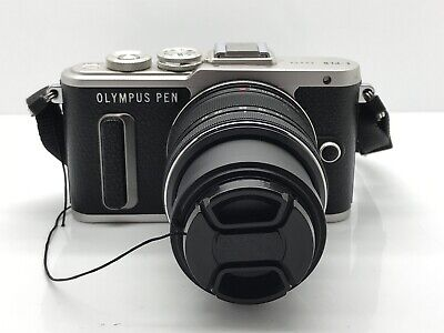 Olympus PEN E-PL8 16.1MP Mirrorless Camera - Black - Kit w/ ED IIR 14-42mm Lens