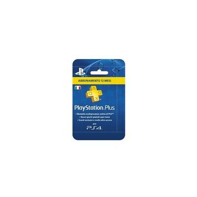Sony  PlayStation Plus Card  365 Multicolore smart card 9808343