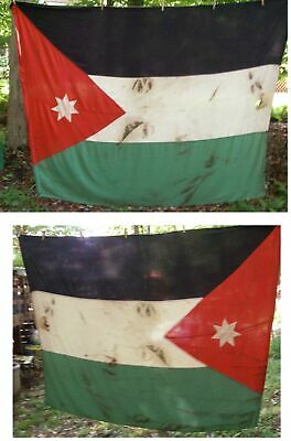 Nation Of Jordan Flag Arab Oil Country