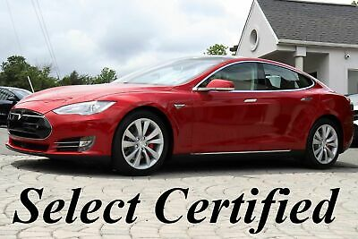 2015 Tesla Model S P85 D Performance 2015 Model S P85 D Performance Original MSRP $126,570 Red on Tan ONLY 34K MILES