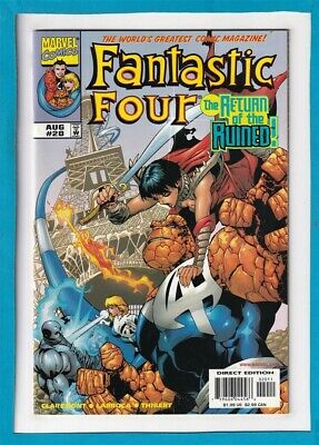 """Fantastic Four #20_August 1999_Vf Minus_The Thing_Human Torch_""""The Ruined""""!"""