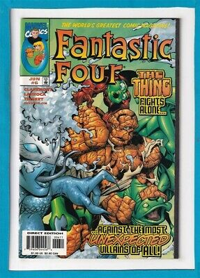 Fantastic Four #6_June 1998_Very Fine/Near Mint_The Thing_Human Torch!