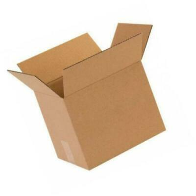 10x8x8 50 Shipping Packing Mailing Moving Boxes Corrugated Cartons