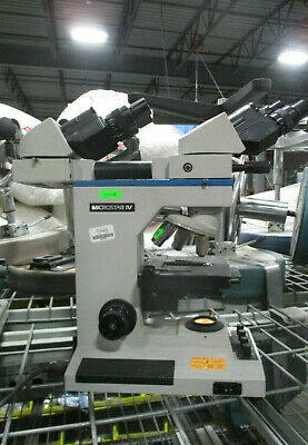 Reichert Microstar IV Medical Laboratory Microscope with Objectives 3
