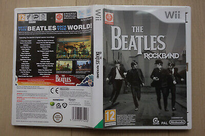 Wii - The Beatles - Rockband - PAL - Nintendo