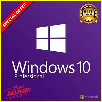 Windows 10 Pro License Key Product Code - INSTANT DELIVERY Professional 32/64bit