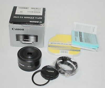 Canon EF-M 22mm f/2 STM Lens For EOS-M fit
