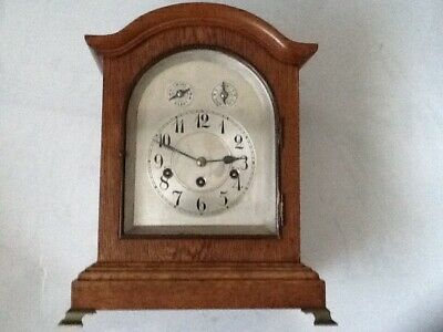 Rare Antique German Junghans Wurttemberg B13 Westminister Chime Bracket Clock