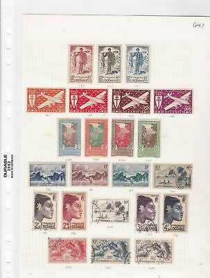 french oceana stamps  ref 10363