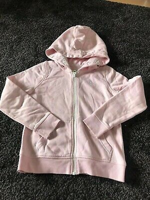 Girls Pink Hoody Age 7Yrs TU
