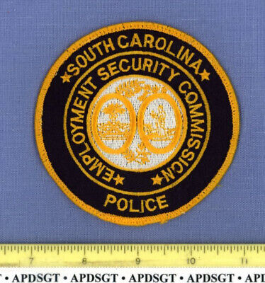 SOUTH CAROLINA STATE EMPLOYMENT SECURITY COMMISSION Sheriff Police Patch