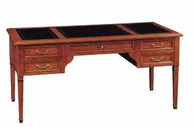 GRANGE DIRECTOIRE WRITING DESK with leather on top, RRP £2400