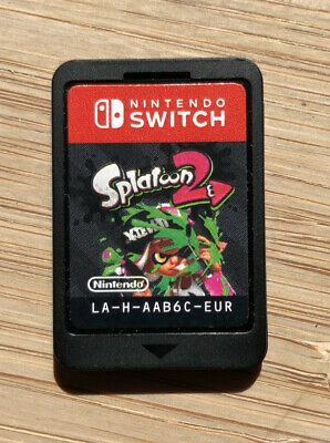 Splatoon 2 Nintendo Switch Game Only