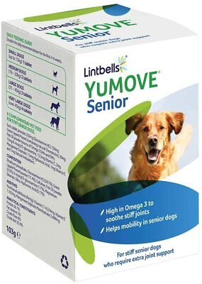 Lintbells YuMOVE Senior Dog Joint Supplement for Older Stiff Dogs 240 Tablets.