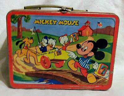Mickey Mouse Lunchbox 1954 Disney Metal Collectible